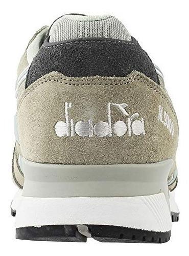 diadora hombres n9000 nyl (gris / paloma / alaska gris)