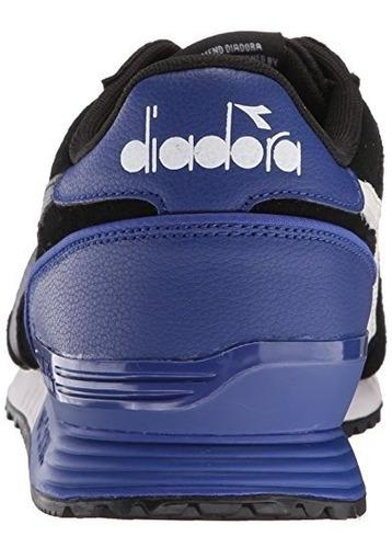 diadora - running para hombre titan fashion de ante zapato