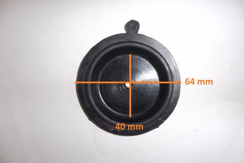 diafragma membrana aquecedor a gas antigo 64mm 346