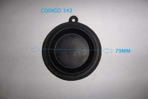 diafragma membrana aquecedor a gas antigo 79mm cod 342