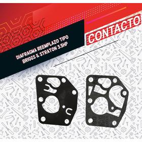 Diafragma Reemplazo Tipo Briggs & Straton 3.5hp   Contactoma