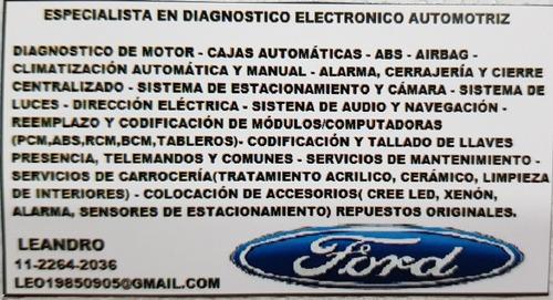 diagnostico avanzado vehículos ford