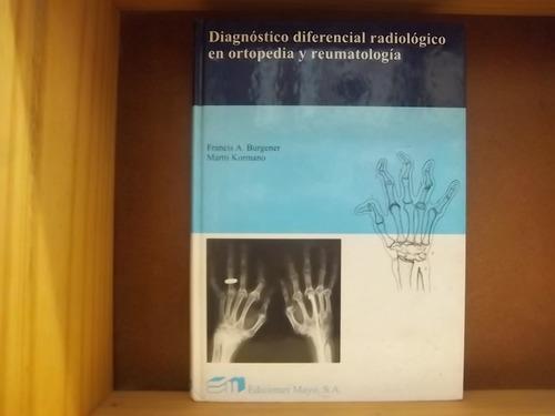 diagnostico diferencial radiológico burgener/kormano