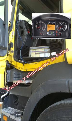 diagnóstico escaneo scania camiones buses sdp3 vci