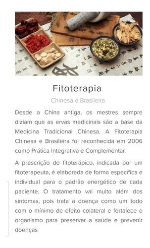 diagnóstico mtc - prescrição fitoterapia chinesa/brasileira
