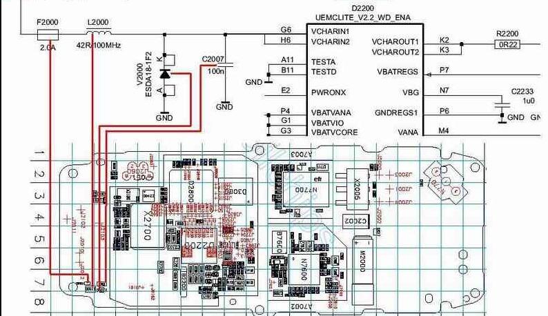 Diagrama Eletrico Sony Xperia Z1 Compact D5503