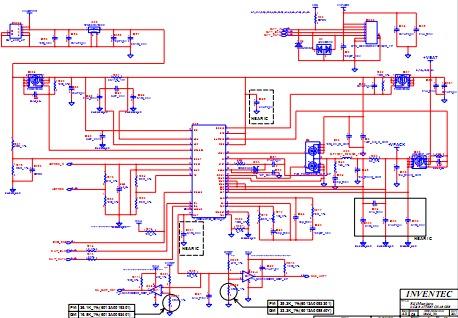 Diagrama Para    Laptop    Schematic Tarjeta Madre Motherboard