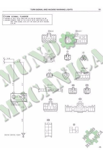 Diagramas Electricos Toyota Corolla Araya Ae90 Ae92 Pdf