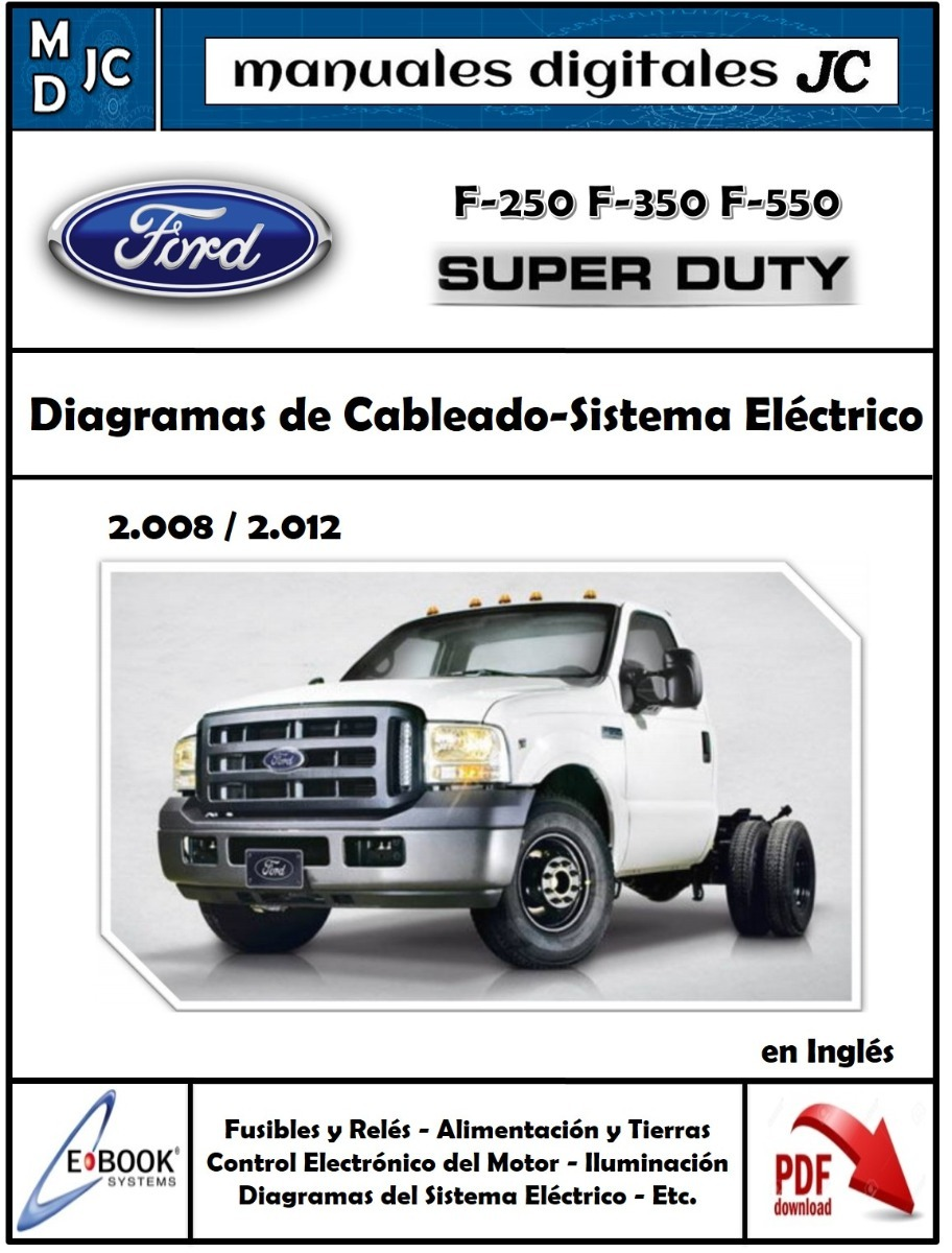 Diagramas Sistema El U00e9ctrico Ford Super Duty F350 F250 Triton
