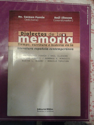 dialectos de la memoria