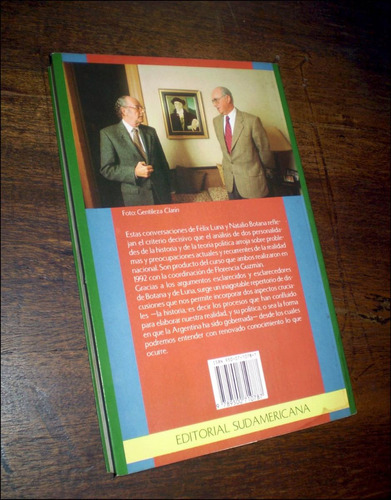 dialogos / historia y politica _ natalio botana & felix luna