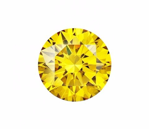 diamante amarelo, 0.37 quilate