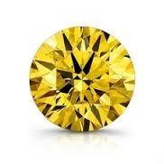 diamante amarelo 0.40 quilate