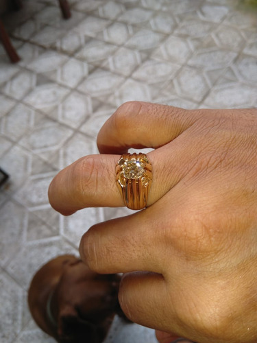 diamante anillo