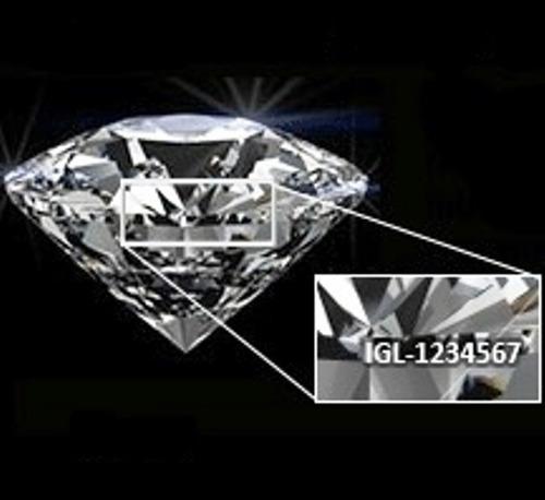 diamante certificado láser0.90ct e si2 oro anillo matrimonio