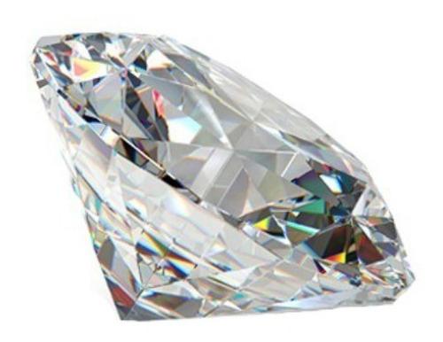 diamante natural 100% de .40ct suelto -50%