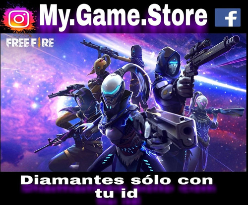 diamantes de free fire 5.600+560=$3.400pesos
