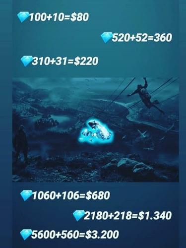 diamantes frefire recargas al instante número mp 3584203519