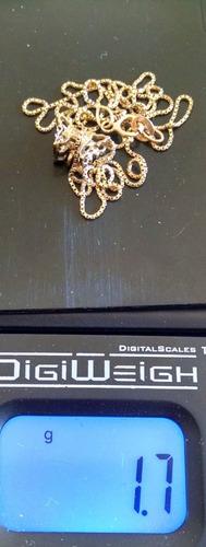 diamantes oro collar