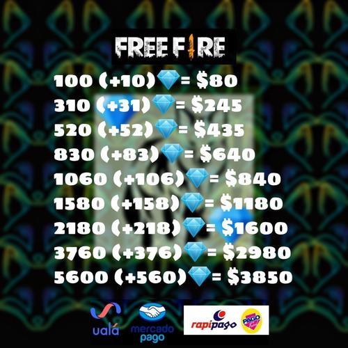 diamantes para free fire