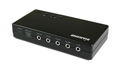 diamond multimedia usb 7.1 de audio de sonido envolvente de