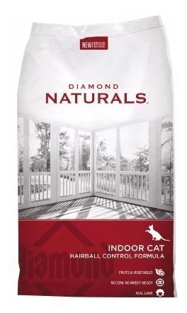 diamond naturals indoor cat 18libras - kg a $20625
