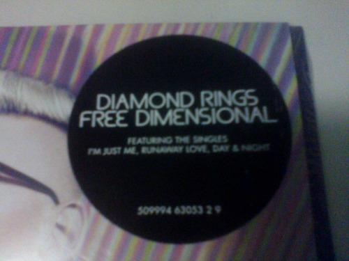 diamond rings - free dimensional [cd]