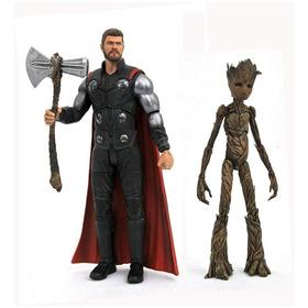 Diamond Select Marvel Avengers Infinity War Thor & Groot
