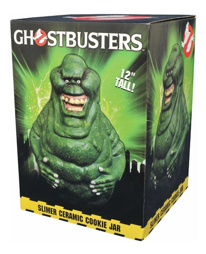 diamond select toys ghostbusters slimer cookie jar - geléia