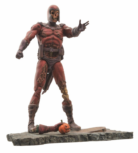 diamond select toys marvel select: zombie magneto action fig