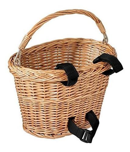 diamondback - cesta de mimbre para bicicleta