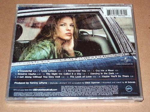 diana krall the look of love cd nuevo