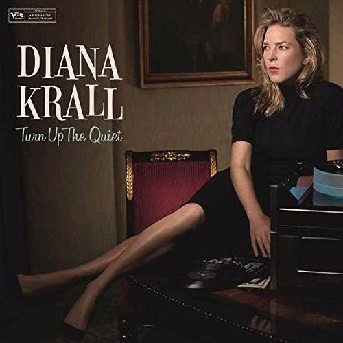 diana krall turn up the quiet  vinilo doble nuevo importado