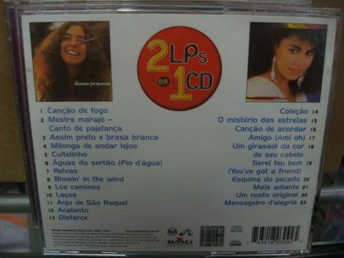 diana pequeno - 2 em 1 - cd nacional raro