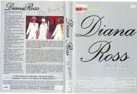 diana ross in concert - dvd original, raro