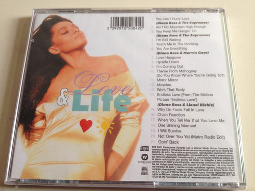 diana ross love & life cd nuevo nacional