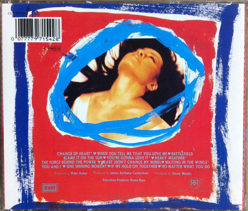 diana ross. the force behind the power. cd original