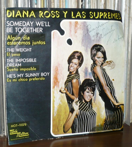 diana ross y las supremes ep someday we´ll be together