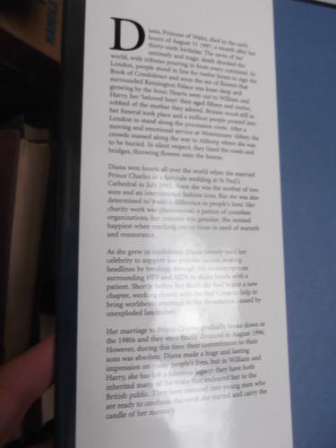 diana unseen archives de lady di en ingles ed. lujo  390 pag