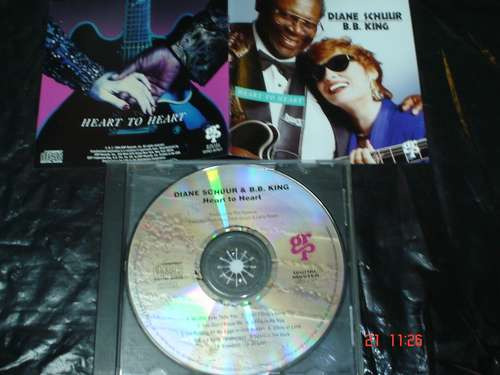 diane schuur & b b king  - cd  -  heart to heart css