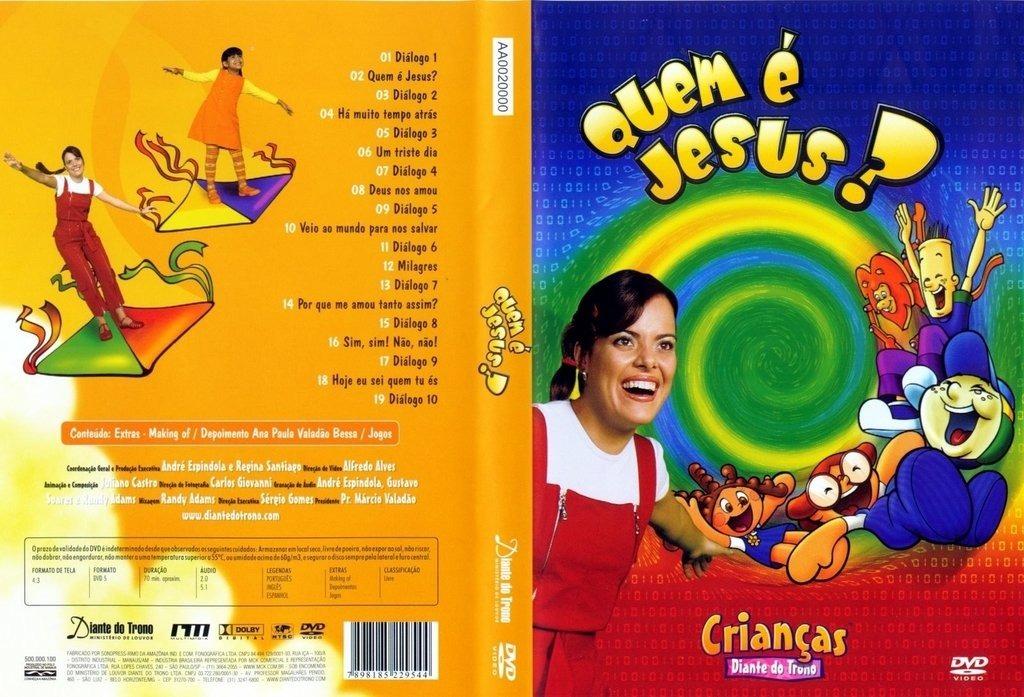 dvd diante do trono infantil quem jesus gratis