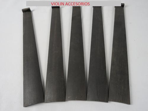 diapason de ebano para violin 4/4 con sejilla