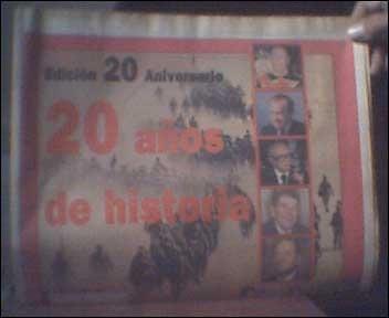 diario 2001 edición 20 aniversario 1993 historia vdh cth