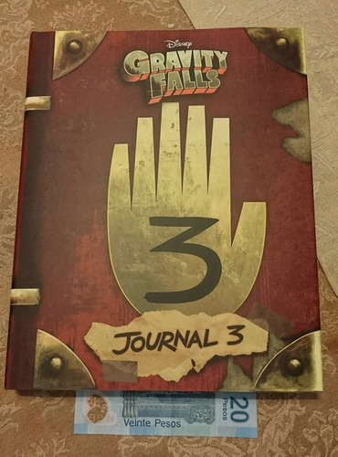 diario 3 gravity falls dipper mabel journal 3 original *int