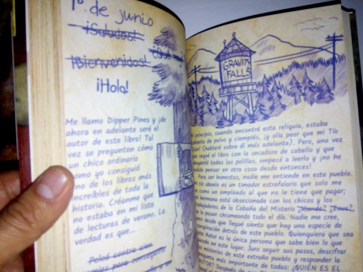 Página 3 De 4: Diario 3 ... Gravity Falls (en Español) Dhl