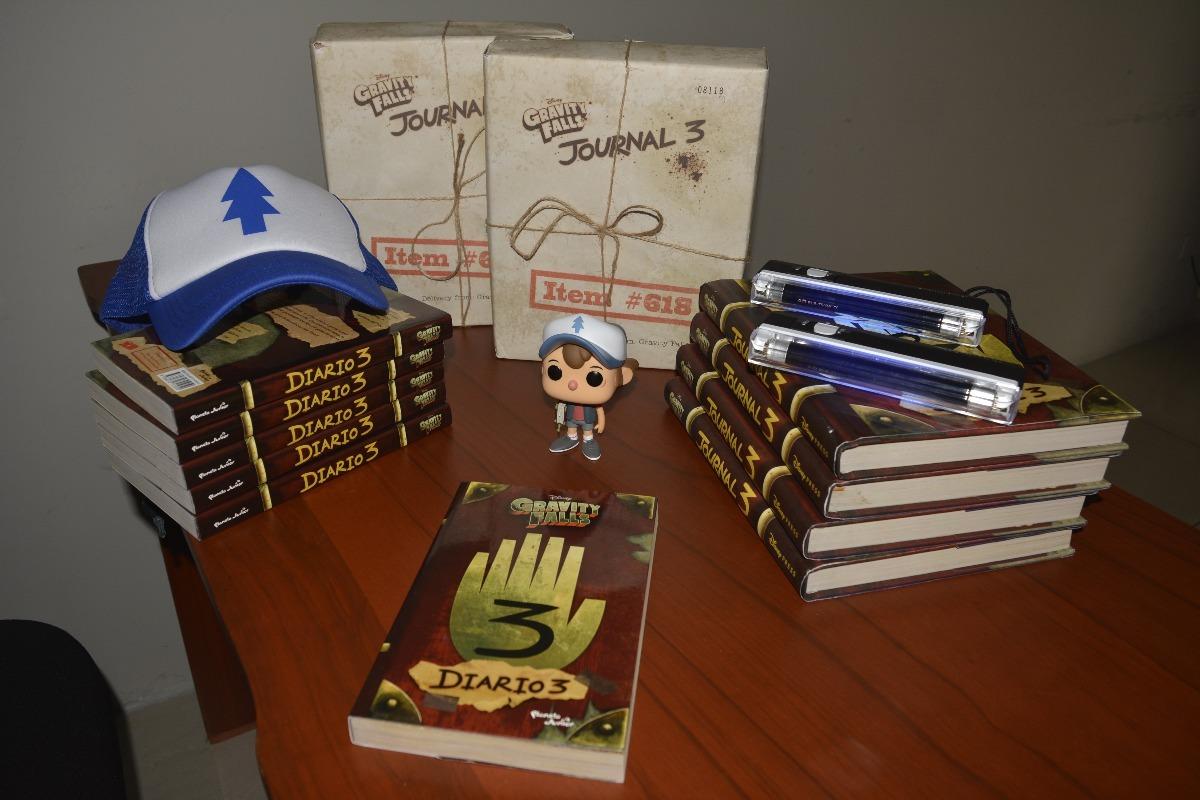 Página 3 De 4: Diario 3 Gravity Falls Español Original Envío Todo Peru