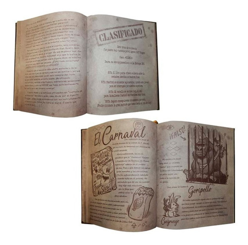 diario 3 gravity falls libro sin tinta invisible envío grati