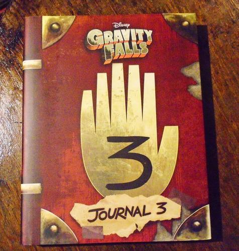 diario 3 gravity falls original oficial ingles pasta dura