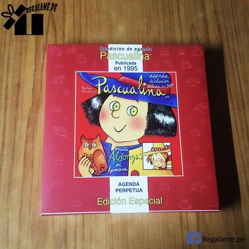 diario agenda pascualina - coleccion reedicion 1995 original