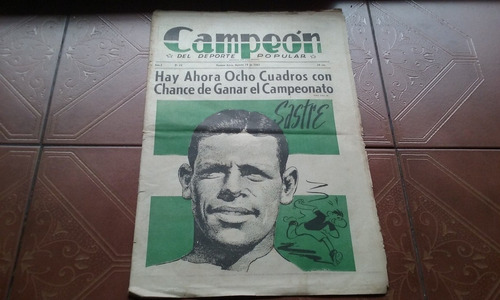 diario campeon del deporte popular nº16 19/8/1941 detalles